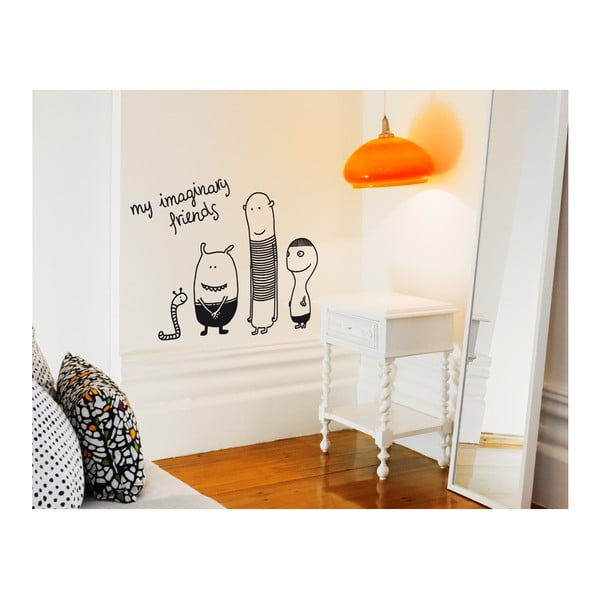 Samolepka na zeď My imaginary friends