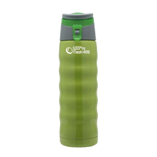 Zelená sportovní lahev Pioneer, 480 ml