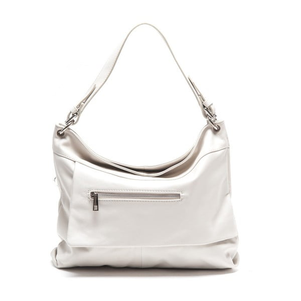 Kožená kabelka Renata Corsi 2138 Bianco