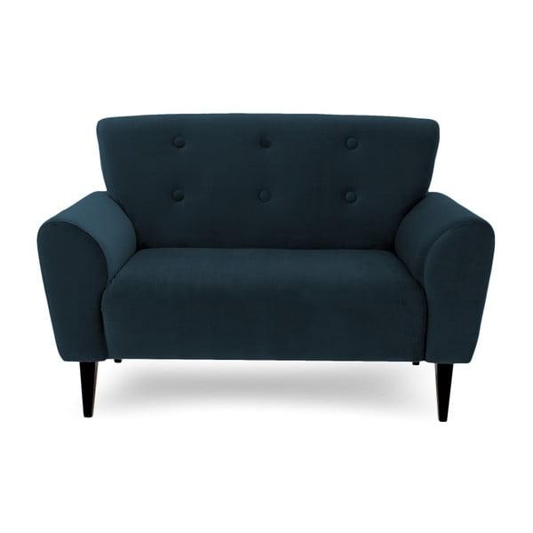 Canapea cu 2 locuri Vivonita Kiara, albastru închis