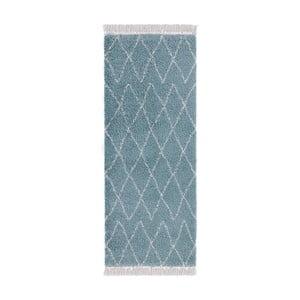 Modrý běhoun Mint Rugs Galluya, 80x200cm