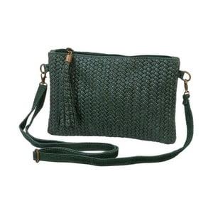 Zelená kabelka z pravé kůže Andrea Cardone Michele