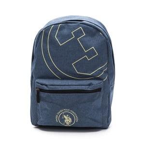 Džínově modrý pánský batoh U.S. Polo New Yorker, 30 x 44 cm