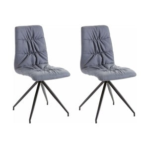 Sada 2 modrých židlí Støraa Gino