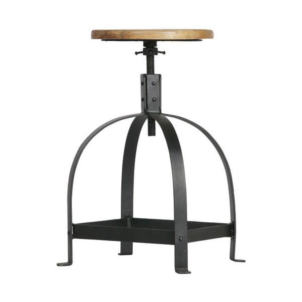 Stolička ze dřeva a kovu De Eekhoorn Piano