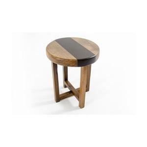 Stolička z borovicového aořechového masivu Jolo