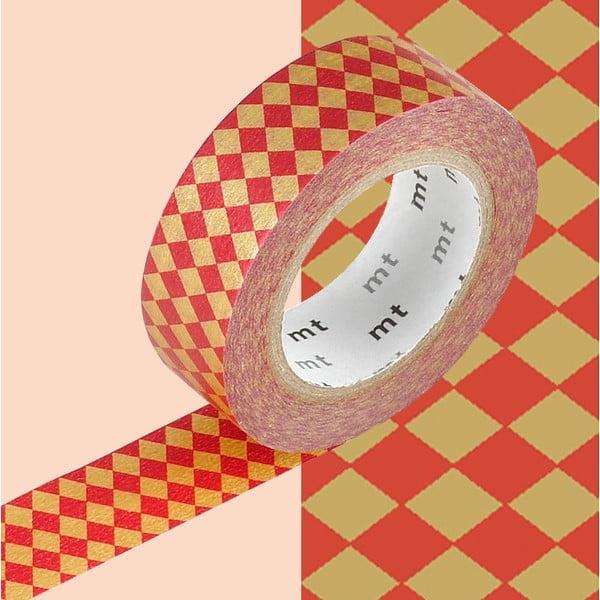 Bandă decorativă Washi MT Masking Tape Berdine, rolă 10 m