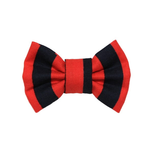 Červeno-černý charitativní psí motýlek Funky Dog Bow Ties, vel. M