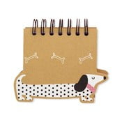 Bloček GO Stationery Sausage Dog