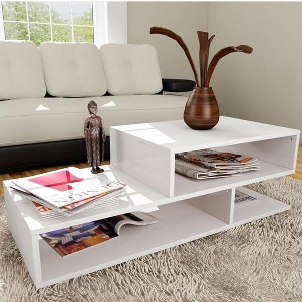 Konferenční stolek Kamelya White