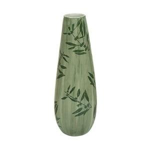 Zelená kameninová váza Santiago Pons Florist, výška 41cm