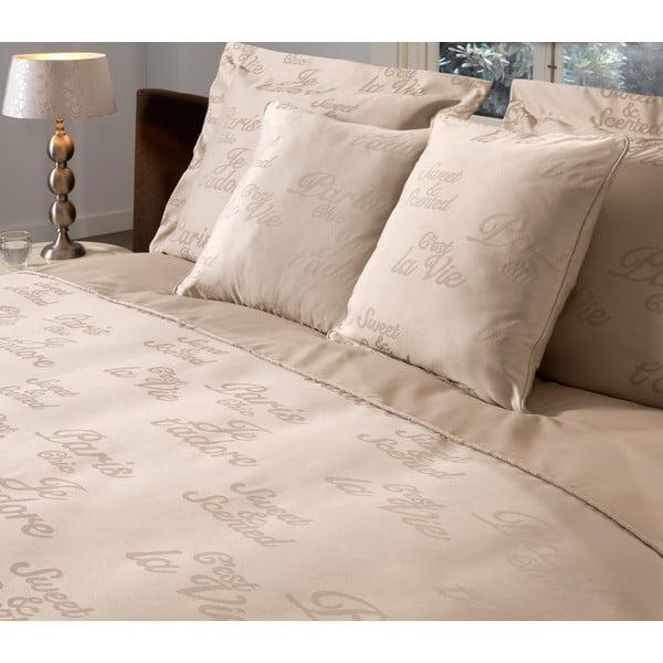 Povlečení Muller Textiel Paris Sand, 240x200cm