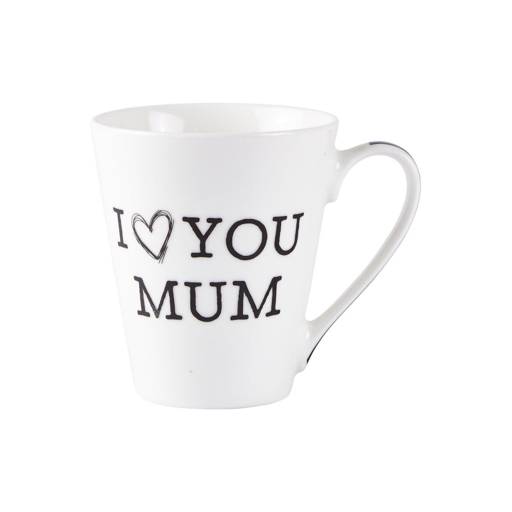 Porcelánový hrneček KJ Collection Love Mum