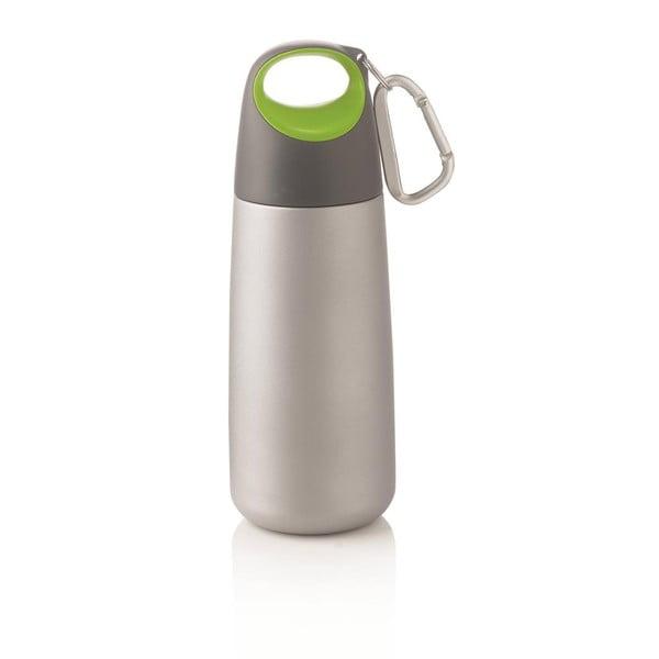 Zelená lahev s karabinkou XD Design Mini Bopp