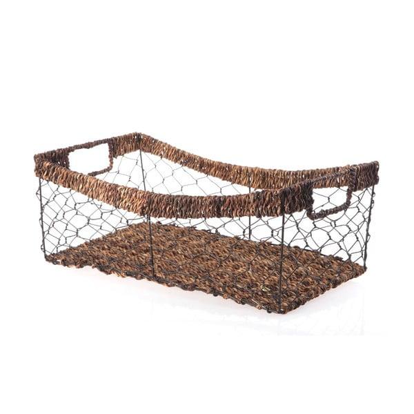 Proutěný košík Wicker, 42 cm