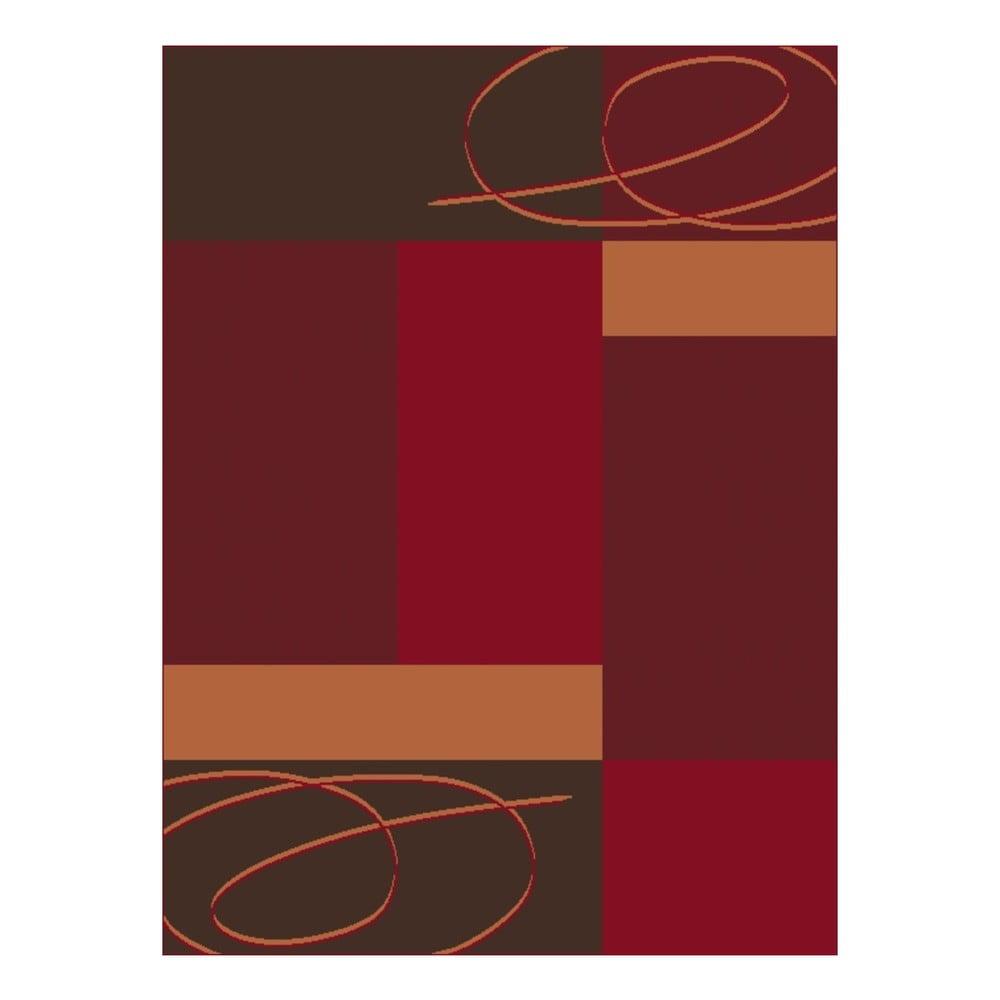 Červený koberec Hanse Home Prime Pile, 70 x 140 cm