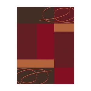 Červený koberec Hanse Home Prime Pile,120x170cm