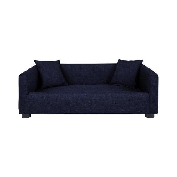 Canapea cu 2 perne decorative pentru câini Marendog Princess, albastru închis