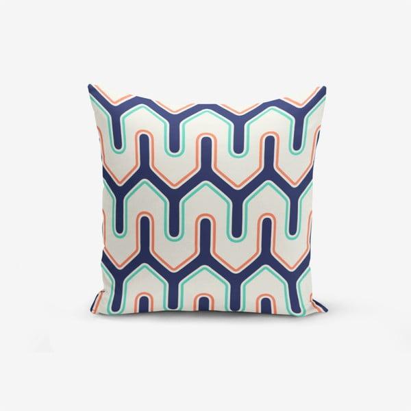 Față de pernă cu amestec din bumbac Minimalist Cushion Covers Liandsnse Special Design Modern, 45 x 45 cm