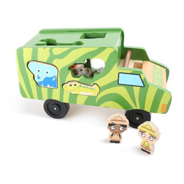 Safari Bus formaillesztős játék - Legler