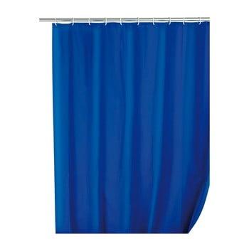 Perdea de duș Wenko Simplera, 180 x 200 cm, albastru imagine