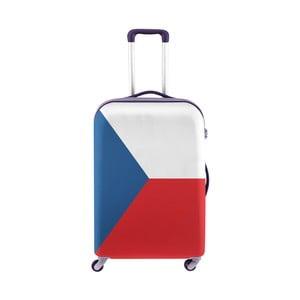 Obal na kufr Oyo Concept Česká vlajka, 76 x 49 cm