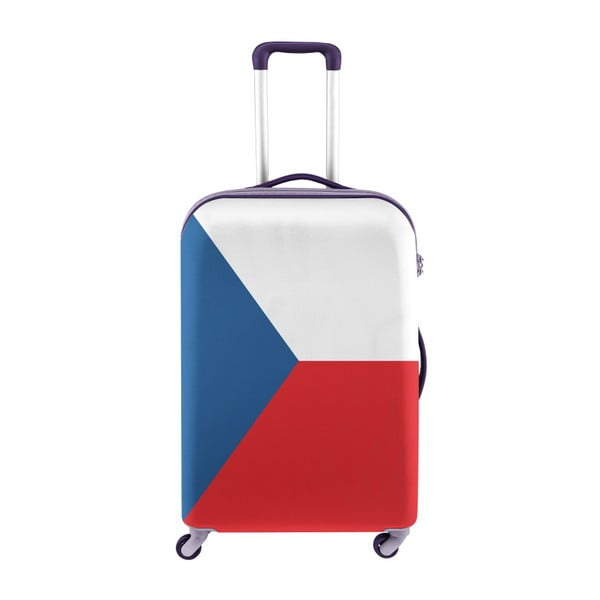 Obal na kufr Oyo Concept Česká vlajka, 67 x 43 cm