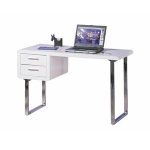 Pracovní stůl s 2 šuplíky Interlink Claude