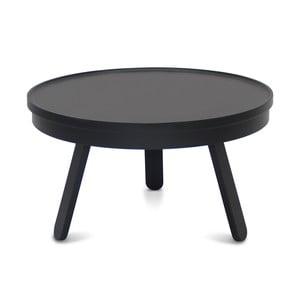 Masă cu spațiu de stocare Woodendot Batea M, negru