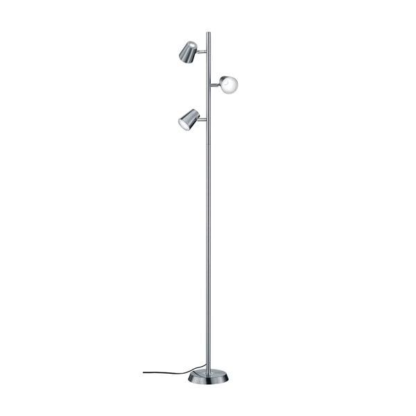 Lampadar LED Trio Narcos, înălțime 1,54 m, gri