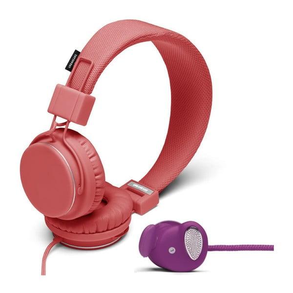 Sluchátka Plattan Coral + sluchátka Medis Grape ZDARMA