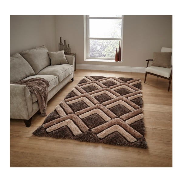 Covor Think Rugs Noble House, 120 x 170 cm, maro