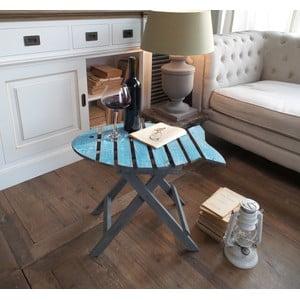Kávový stolek Orchidea Milano Blue Fish