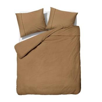 Lenjerie De Pat Din Micropercal Sleeptime Satin Monte Carlo, 200 X 200 Cm, Maro