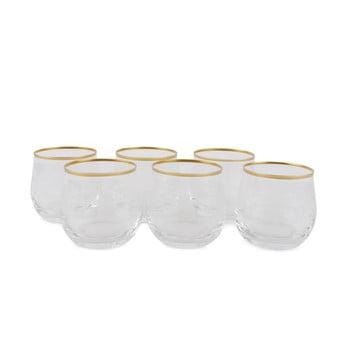 Set 6 pahare din sticlă Filikita
