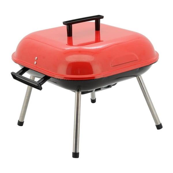 Grătar pe cărbuni Cattara Table, roşu