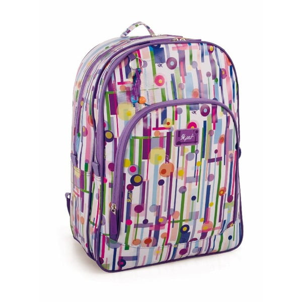 Batoh Skpat-T Backpack Purple Abstract