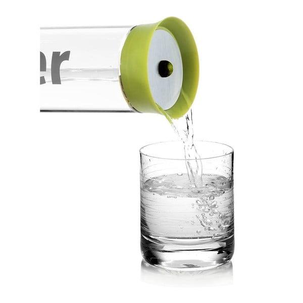 Karafa na vodu s nylonovým návlekem, limetková