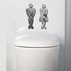 Dekorativní zrcadlo Toilet