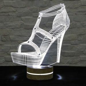 3D stolní lampa Shoe