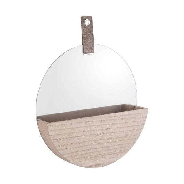 Nástěnné zrcadlo s úložným prostorem PT LIVING Basic