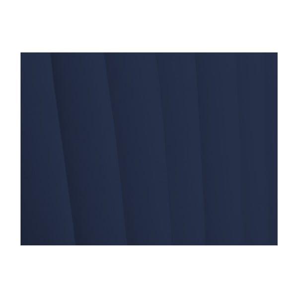 Tmavě modré čelo postele Cosmopolitan design NJ, 200x120cm