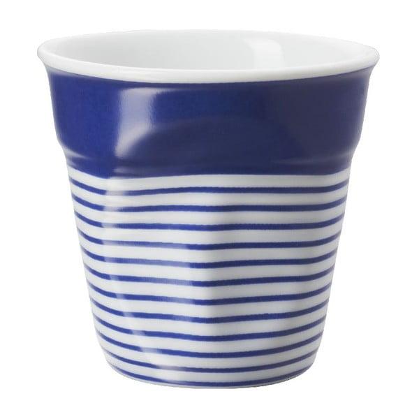 Kelímek na espresso Froisses 8 cl, modro-bílý