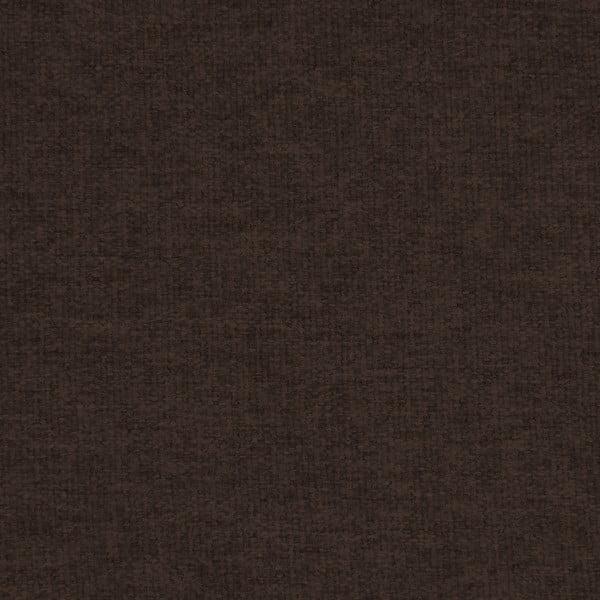 Canapea 2 locuri cu picioare negre Vivonia Kennet, maro închis