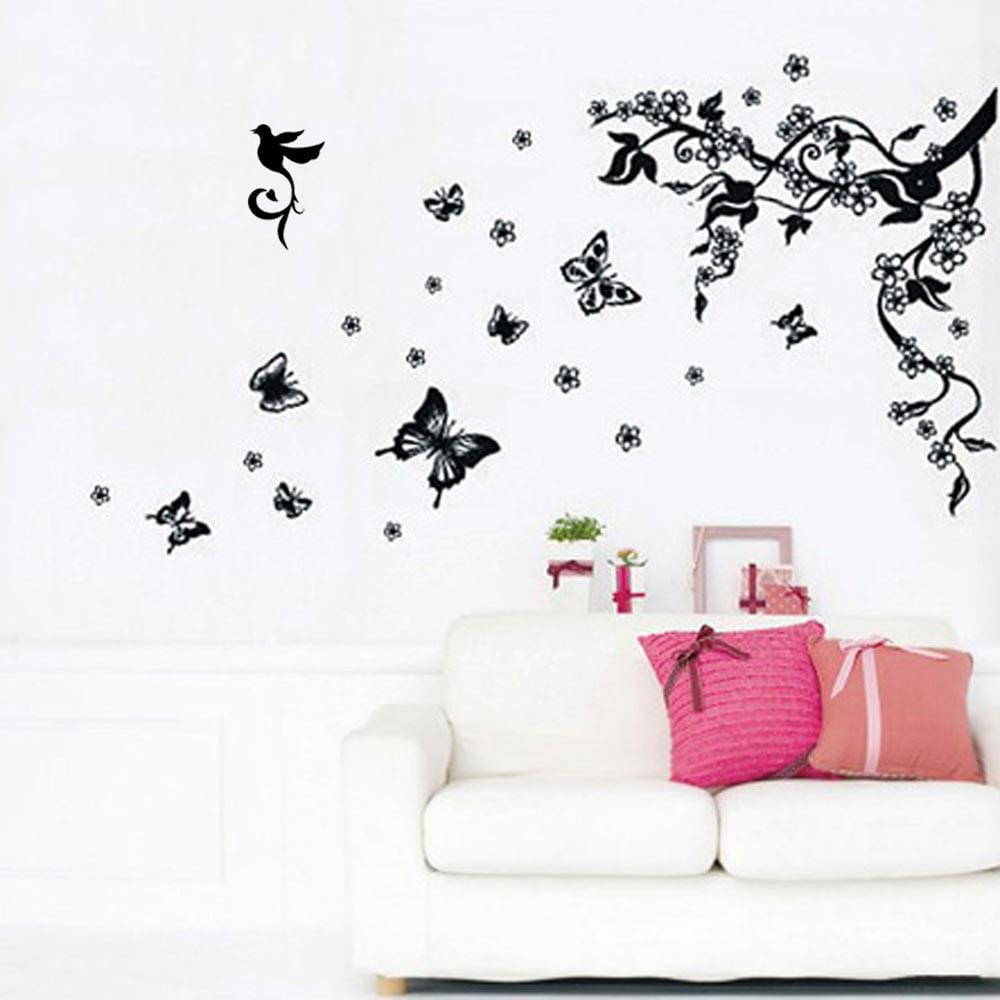 Samolepka na stěnu Walplus Hejno motýlků