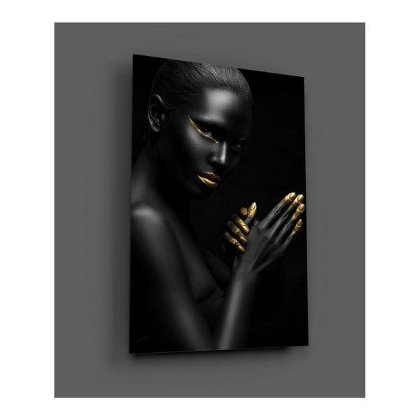 Obraz szklany Insigne Pinkelo, 72x46 cm