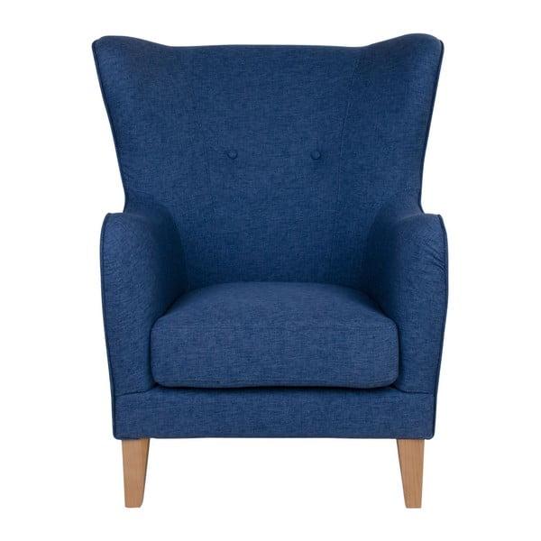 Niebieski fotel House Nordic Campo