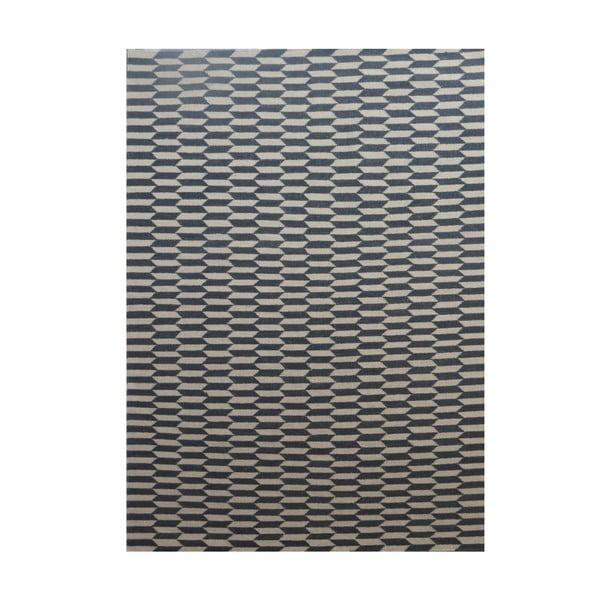 Vlněný koberec Lutea Grey, 170x240 cm