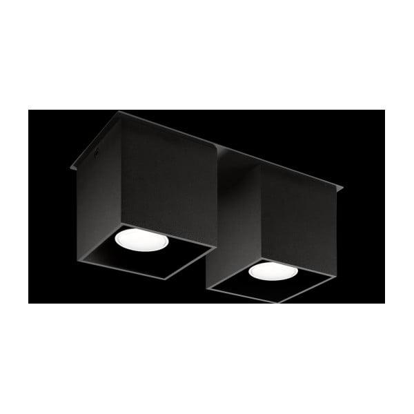 Černé stropní světlo Nice Lamps Geo2