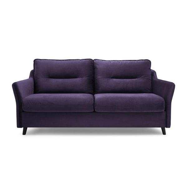 Canapea extensibilă Bobochic Paris Loft, mov